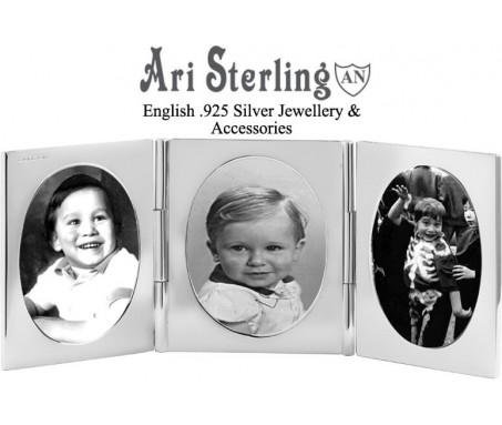 925 Sterling Silver Picture Photo Frames Newborn Baby Gifts