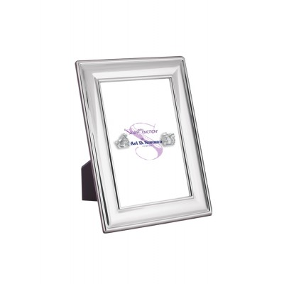 Photo Frame With Wooden Back 9m x 6cm Sterling Silver