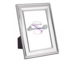 Photo Frame With Wooden Back 13cm x 18cm Sterling Silver