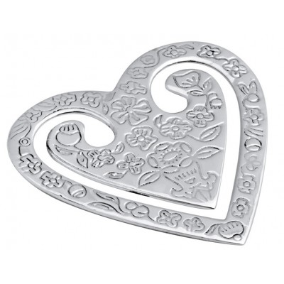 Heart Bookmark Sterling Silver