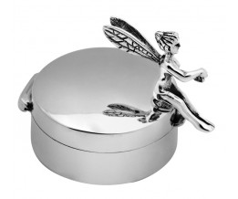 Sterling Silver Fairy Pill Box